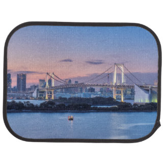 Rainbow Bridge at twilight Car Mat