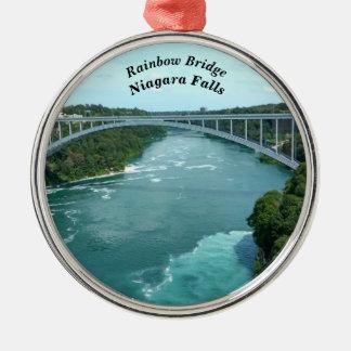 Rainbow Bridge, Niagara Falls Christmas Ornament