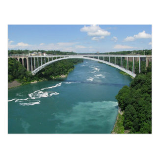 Rainbow Bridge, Niagara Falls Postcard