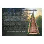 Rainbow Bridge Pet Loss Sympathy Card 9 Cm X 13 Cm Invitation Card