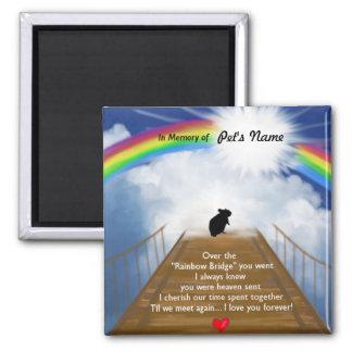 Rainbow Bridge Poem for Hamsters Magnet