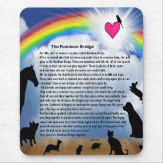 Rainbow Bridge Poem Mousepad