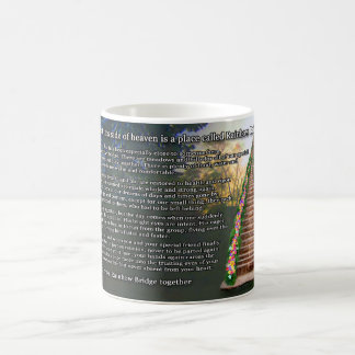 Rainbow Bridge Poem Pet Loss Sympathy Mug