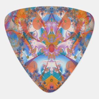 Rainbow Bridge Psychedelic Fractal Plectrum