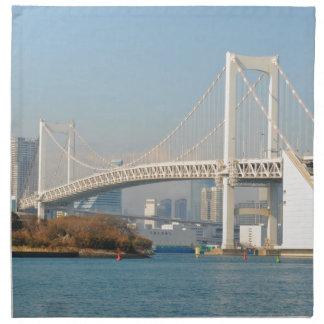 Rainbow Bridge, Tokyo, Japan Napkin