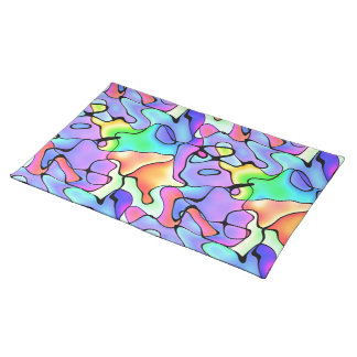 Rainbow Bright Art Placemat