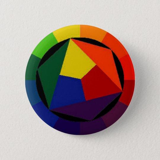 RainBow Bright - Gay Symbol Button