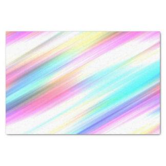 Rainbow Brush Strokes Tissue Paper