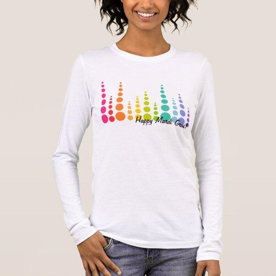Rainbow Bubble Dots Long Sleeve T-Shirt