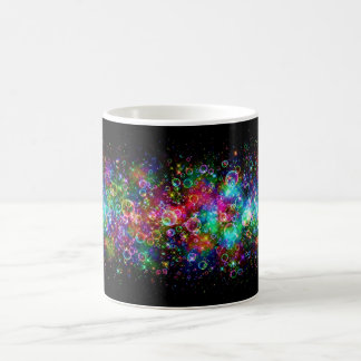 Rainbow Bubbles Basic White Mug