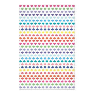Rainbow Bubbles Custom Flyer