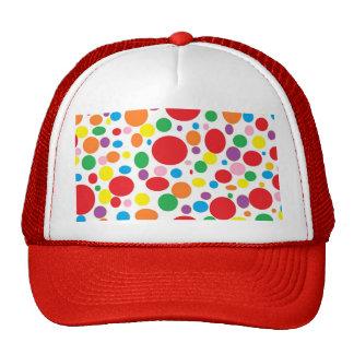 Rainbow Bubbles Mesh Hat
