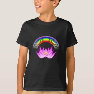 Rainbow Buddhist Lotus T-Shirt