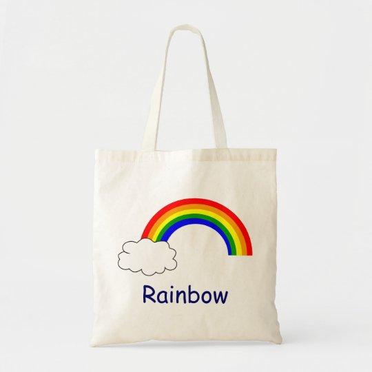 Rainbow Budget Tote