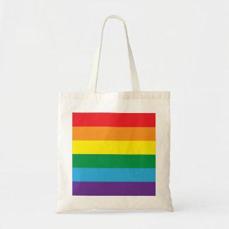 Rainbow Budget Tote Bag