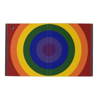 Rainbow Bullseye iPad Covers