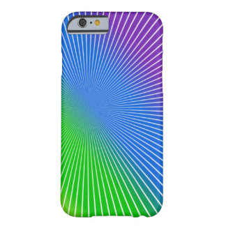 Rainbow Burst Barely There iPhone 6 Case