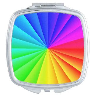 Rainbow Burst Compact Mirror