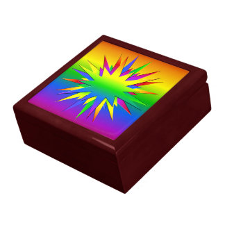 Rainbow Burst jewelry / gift box, customize Gift Box