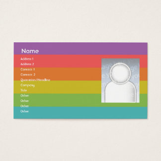 Rainbow - Business Business Card