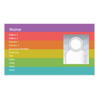Rainbow - Business Pack Of Standard Business Cards