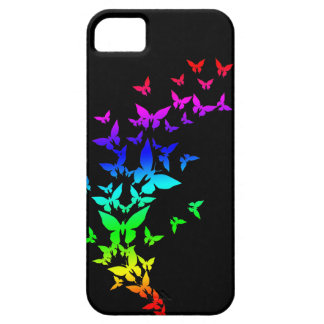 Rainbow Butterflies Barely There iPhone 5 Case