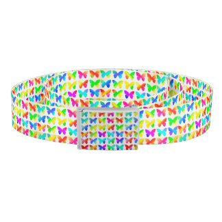 Rainbow Butterflies Belt
