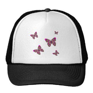 Rainbow Butterflies Cap
