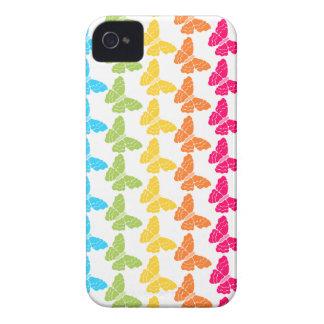 Rainbow butterflies iPhone 4/4S Case