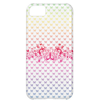 rainbow butterflies iphone 5 vibe case cover iPhone 5C case