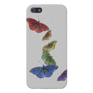 Rainbow Butterflies Phone Case iPhone 5 Cover