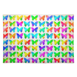 Rainbow Butterflies Placemat