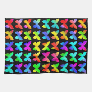 Rainbow Butterflies Tea Towel
