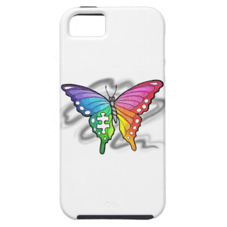 Rainbow Butterfly iPhone 5 Case