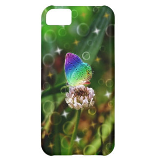 Rainbow Butterfly iPhone 5C Cases