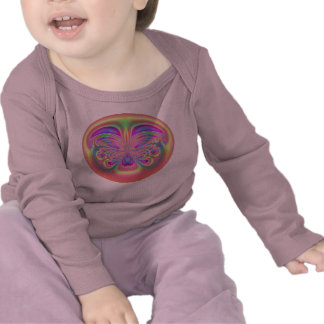 Rainbow Butterfly for Baby Long Sleeve T Shirt