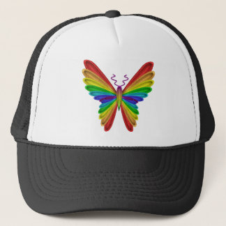Rainbow Butterfly Hat