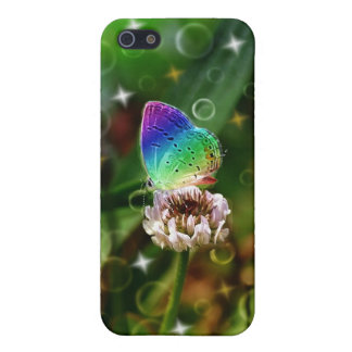 Rainbow Butterfly Case For iPhone 5