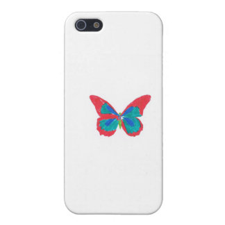 Rainbow butterfly iPhone 5 cases