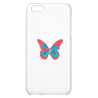 Rainbow butterfly iPhone 5C case