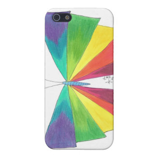Rainbow Butterfly iPhone Case Case For The iPhone 5