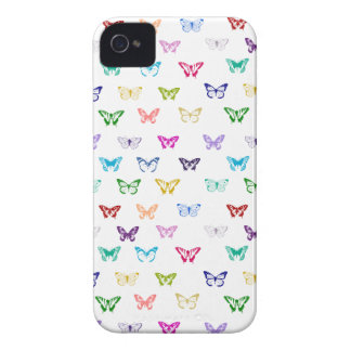 Rainbow butterfly pattern iPhone 4 covers