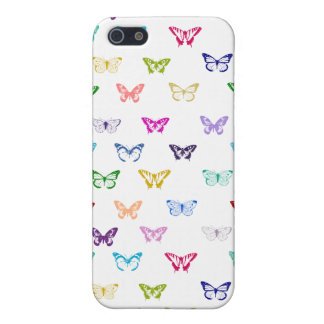 Rainbow butterfly pattern iPhone 5 cover