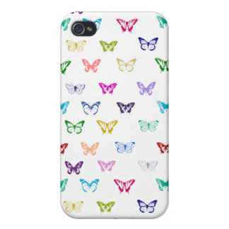 Rainbow butterfly pattern iPhone 4/4S cover