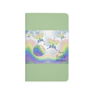 Rainbow  Butterfly Pentacle  Trvl BOS Grimoire Journals