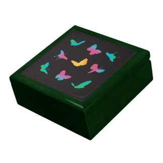Rainbow Butterfly Shapes Gift Boxes
