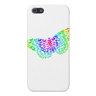 Rainbow Butterfly Silhouette iPhone 5/5S Cover