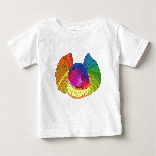Rainbow butterfly skull baby T-Shirt