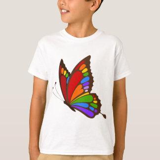 Rainbow Butterfly Tee Shirts