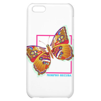 rainbow butterfly two case for iPhone 5C